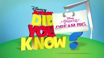 Disney Princess Royal Shimmer Dolls TV Spot, 'Disney Junior: Dream Big' - Thumbnail 1