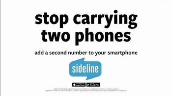 Sideline TV Spot, 'Free Phone Number' - Thumbnail 4