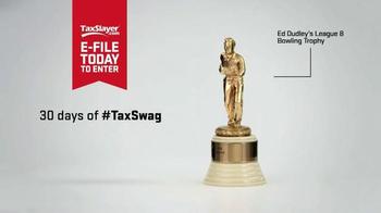 TaxSlayer.com TV Spot, '30 Days of Sweet Tax Swag: Harold's Bowling Trophy' - Thumbnail 3