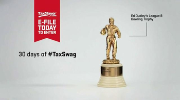 30 Days of Sweet Tax Swag: Harold's Bowling Trophy thumbnail