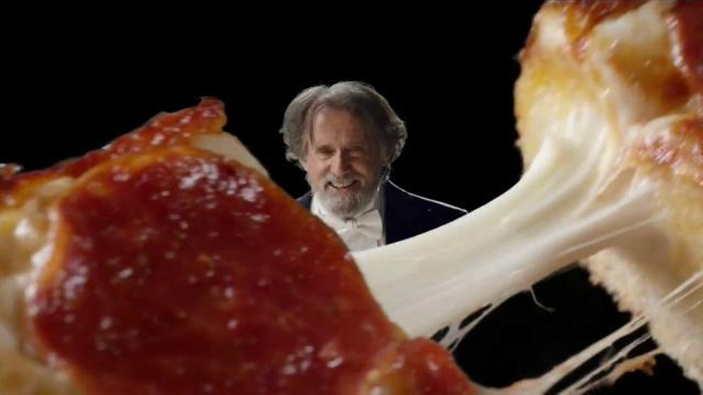 Little Caesars Stuffed Crust DEEP!DEEP! Dish Pizza TV Commercial, 'Chorus'