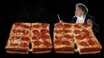 Little Caesars Stuffed Crust DEEP!DEEP! Dish Pizza TV Spot, 'Chorus' - Thumbnail 3
