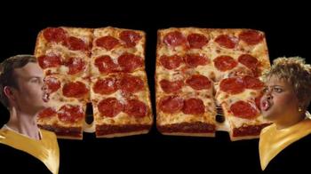 Little Caesars Stuffed Crust DEEP!DEEP! Dish Pizza TV Spot, 'Chorus' - Thumbnail 5