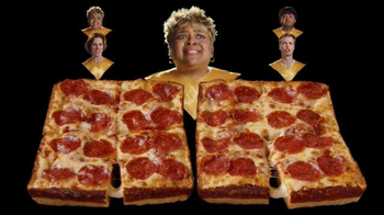 Little Caesars Stuffed Crust DEEP!DEEP! Dish Pizza TV Spot, 'Chorus' - Thumbnail 8