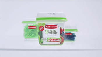 Rubbermaid FreshWorks Produce Saver TV Spot, 'Just Picked' - Thumbnail 4
