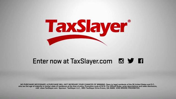 TaxSlayer.com TV Spot, '30 Days of Tax Swag: Bacon Belt Buckle' - Thumbnail 7