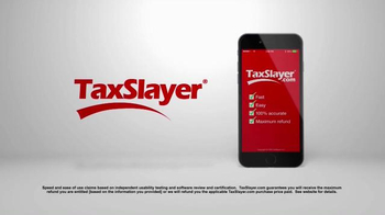TaxSlayer.com TV Spot, '30 Days of Tax Swag: Bacon Belt Buckle' - Thumbnail 1