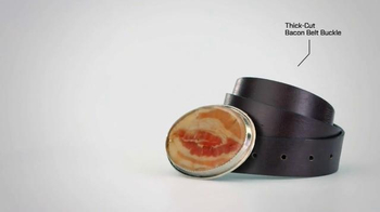 TaxSlayer.com TV Spot, '30 Days of Tax Swag: Bacon Belt Buckle' - Thumbnail 2