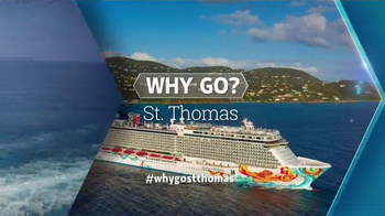 Norwegian Cruise Lines TV Spot, 'Travel Channel: St. Thomas' - Thumbnail 7