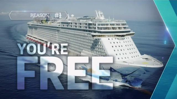 Norwegian Cruise Lines TV Spot, 'Travel Channel: St. Thomas' - Thumbnail 1