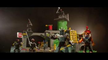 Mega Bloks Teenage Mutant Ninja Turtles TV Spot, 'Build and Mutate'