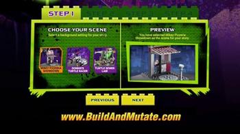 Mega Bloks Teenage Mutant Ninja Turtles TV Spot, 'Build and Mutate' - Thumbnail 6