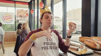 Burger King Grilled Dogs TV Spot, 'Competitive Eater' - Thumbnail 5