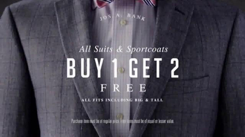 JoS. A. Bank Stock-Up Sale TV Spot, 'All Suits and Sportcoats' - Thumbnail 3