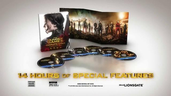 The Hunger Games Complete 4-Film Collection Home Entertainment TV Spot - Thumbnail 5
