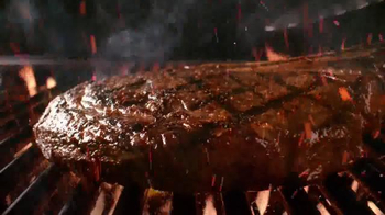 Outback Steakhouse Natural Cut Bone-In Ribeye TV Spot, 'Sizzle' - Thumbnail 2