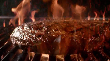 Outback Steakhouse Natural Cut Bone-In Ribeye TV Spot, 'Sizzle' - Thumbnail 3