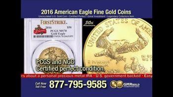 Global Monetary Reserve TV Spot, 'Gold Bullion Act' - 17 commercial airings