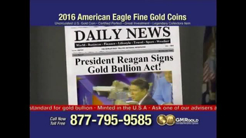 Global Monetary Reserve TV Spot, 'Gold Bullion Act' - Thumbnail 2