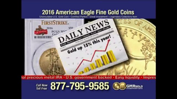 Global Monetary Reserve TV Spot, 'Gold Bullion Act' - Thumbnail 7