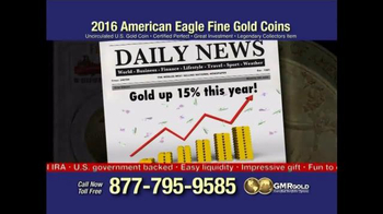 Global Monetary Reserve TV Spot, 'Gold Bullion Act' - Thumbnail 8