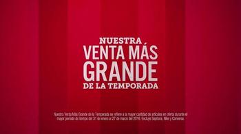 JCPenney TV Spot, 'La venta más grande de la temporada' [Spanish] - Thumbnail 2