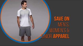 Tennis Warehouse Sitewide Apparel Sale TV Spot, 'Savings Everywhere' - Thumbnail 3