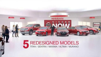 Nissan Now Sales Event TV Spot, 'There's a Lot to See' - Thumbnail 6