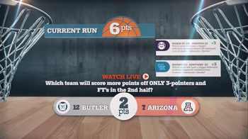 NCAA March Madness Tournament Run TV Spot, 'No More Busted Brackets' - Thumbnail 6