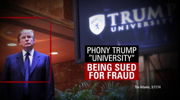 Our Principles PAC TV Spot, 'Fraud'