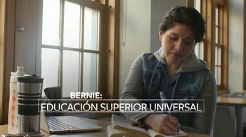 Bernie 2016 TV Spot, 'Acceso Universal a Educación Superior' [Spanish] - Thumbnail 3