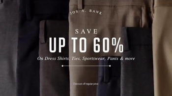 JoS. A. Bank Spring Sale TV Spot, 'All Suits and Sportcoats' - Thumbnail 5