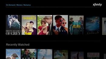 XFINITY X1 TV Spot, 'Romantic Movies' - Thumbnail 2