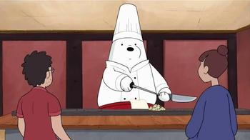 We Bare Bears Stirfry Stunts TV Spot, 'Ice Bear Hibachi' - Thumbnail 1