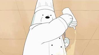 We Bare Bears Stirfry Stunts TV Spot, 'Ice Bear Hibachi' - Thumbnail 4