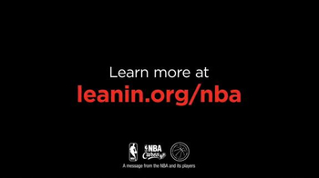Lean In TV Spot, 'NBA: Lean In Together' Feat. Chris Bosh, Gordon Hayward - Thumbnail 8