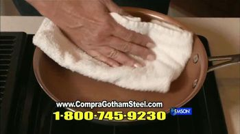 Gotham Steel TV Spot, 'Sartenes antiadherentes' con Daniel Green [Spanish] - Thumbnail 9