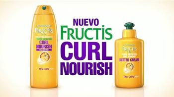 Garnier Fructis Curl Nourish TV Spot, 'Risos hidratados' [Spanish] - Thumbnail 3