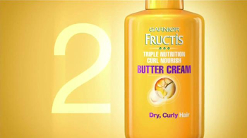 Garnier Fructis Curl Nourish TV Spot, 'Risos hidratados' [Spanish] - Thumbnail 7