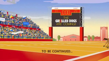 Burger King Grilled Dogs TV Spot, 'FXX: The Grilled Dogs are Coming!' - Thumbnail 9
