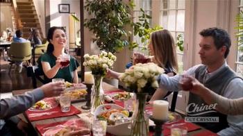 Chinet Cut Crystal TV Spot, 'The Grown-Ups Table' - Thumbnail 4