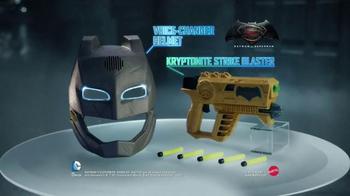 Batman v Superman Helmet & Strike Blaster TV Spot, 'Villains Beware' - Thumbnail 7