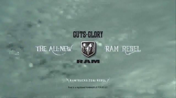 Ram Trucks Guts and Glory Truck Month TV Spot, 'Sorry, Mom' - Thumbnail 8