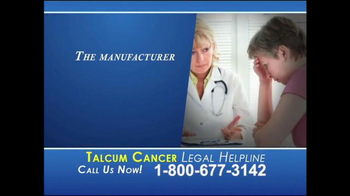 Heygood, Orr and Pearson TV Spot, 'Talcum Cancer Legal Helpline' - Thumbnail 1