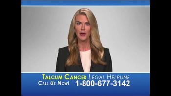 Heygood, Orr and Pearson TV Spot, 'Talcum Cancer Legal Helpline'