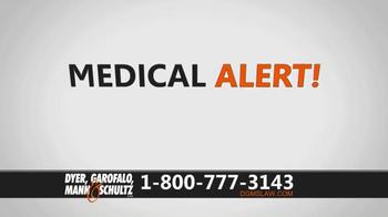 Dyer, Garofalo, Mann & Schultz TV Spot, 'Links to Ovarian Cancer' - Thumbnail 1