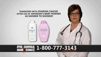 Dyer, Garofalo, Mann & Schultz TV Spot, 'Links to Ovarian Cancer' - Thumbnail 2