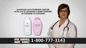 Dyer, Garofalo, Mann & Schultz TV Spot, 'Links to Ovarian Cancer' - Thumbnail 3