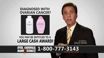 Dyer, Garofalo, Mann & Schultz TV Spot, 'Links to Ovarian Cancer' - Thumbnail 5