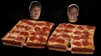 Little Caesars Stuffed Crust DEEP!DEEP! Dish TV Spot, 'Caras' [Spanish] - Thumbnail 5